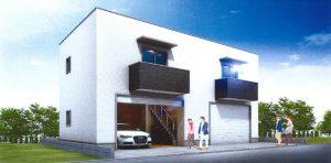 ガレージハウス・パース01