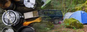ガレージハウス-キャンプ用品-SUV