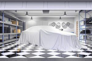 ガレージハウス-貴重な車-ベール